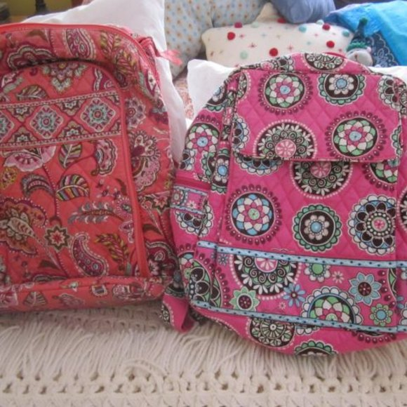 Vera Bradley Bags - 2 for 1 Price Laptop/Backpacks